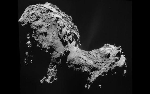 科学者たちはロゼッタ彗星の天気を発見する