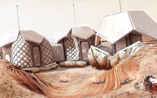 Mimar Norman Foster, Mars'ta Bir Üs için Ayrıntılı Teklif Tasarladı