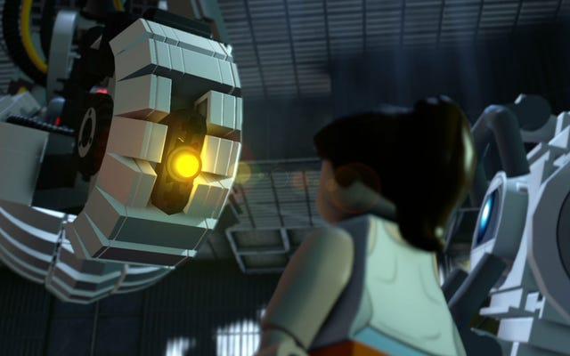 GLaDOS Mencuri Pertunjukan di Momen Portal LEGO Dimensions