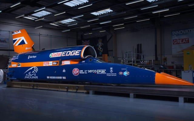 Dünyanın İlk 1000mph Arabasının Mühendisliğinin İçinde