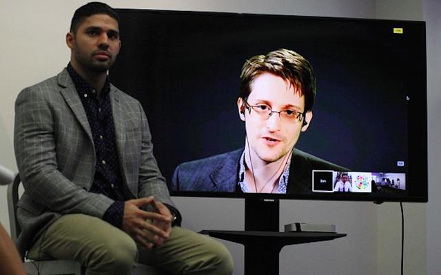 Moskova'dan Canlı Yayın, Edward Snowden Adına Önerilen Bir Antlaşmanın Başlatılmasına Yardımcı Oldu