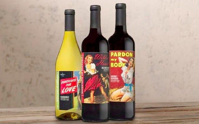 Vous pouvez maintenant acheter du vin Arlequin - Oui, comme dans les romans d'amour