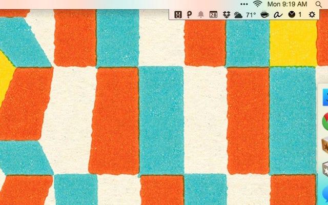 Bartender 2 für Mac Fügt Tastaturkürzel, Suche und mehr hinzu