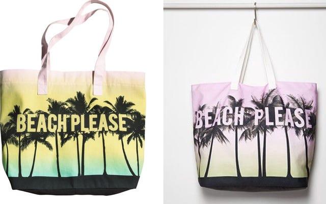 おかしい、H&Mはコピーキャットトートバッグで永遠に21を訴えている