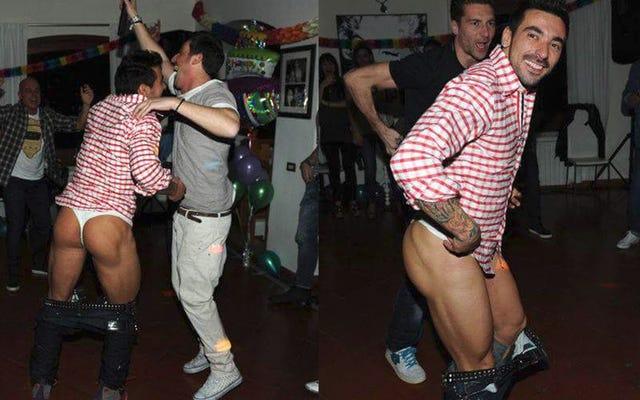 アルゼンチンのモデルはエセキエル・ラベッツィを爆破し、ひもで彼の写真を投稿します