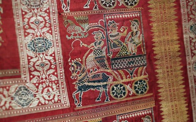 Hint Tekstilleri Sergisi Çarpıcı Görünüyor