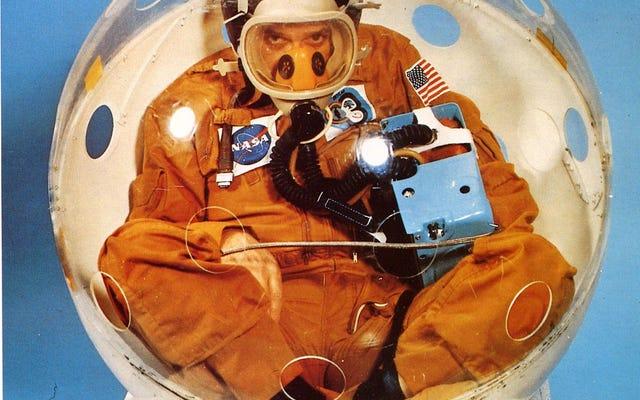 In diesem winzigen Ball stecken zu bleiben, war Teil des Trainings jedes NASA-Astronauten