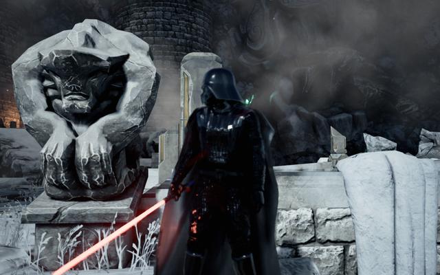 ダースベイダーはUnrealEngine4のデモが得意です