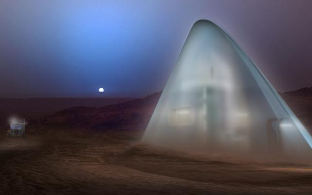 Igloos spatiaux, tubes de lave et trous de Hobbit: voici nos futurs habitats martiens