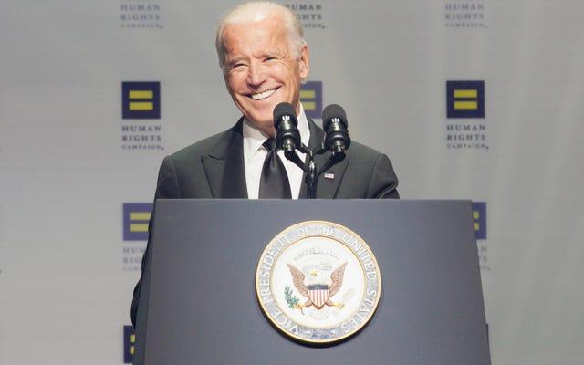 ヒラリー・クリントンとジョー・バイデンの両方が今週の週末にプロのトランスジェンダーの権利に関するスピーチを行いました
