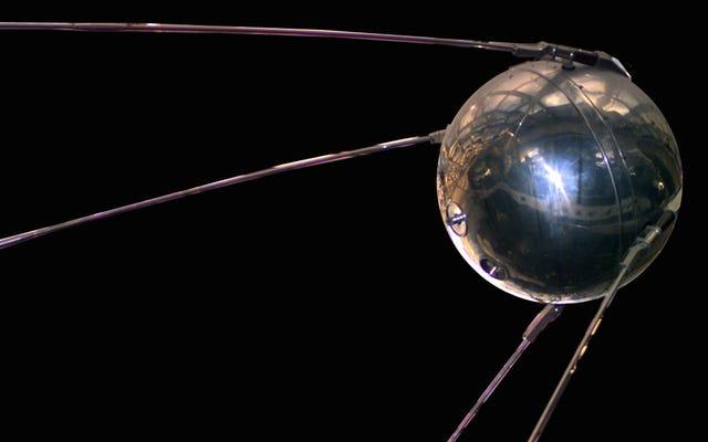 Witajcie Sputnik, pierwszy robotyczny władca, który okrążył naszą planetę