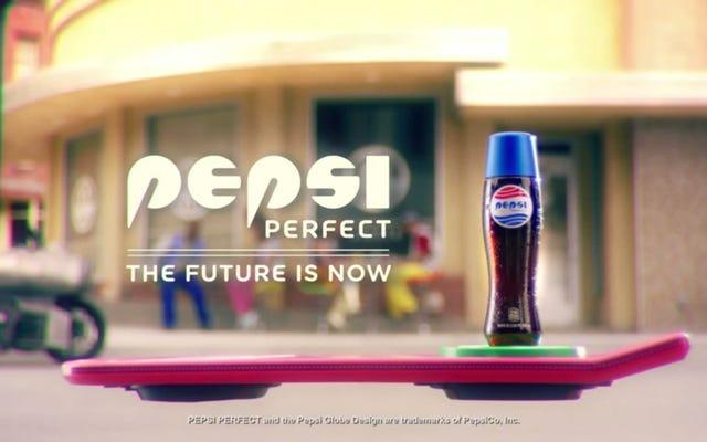 Pepsi sẽ phát hành phiên bản giới hạn trở lại chai tương lai, Pepsi Perfect