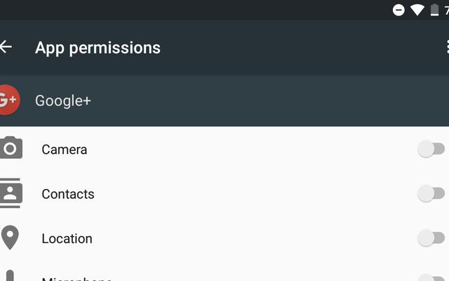 一部のAndroid6.0アプリは、権限を要求して中断することを知らない場合があります