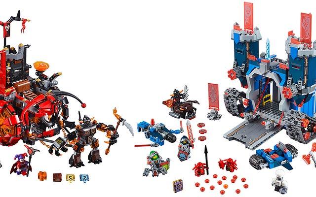 Thời Trung Cổ được nâng cấp một số tương lai với các Hiệp sĩ Nexo mới của Lego