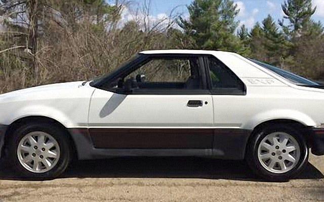 この1986年のフォードエスコートEXPは$ 1,800であり、そこにある最後のまともなものである可能性があります