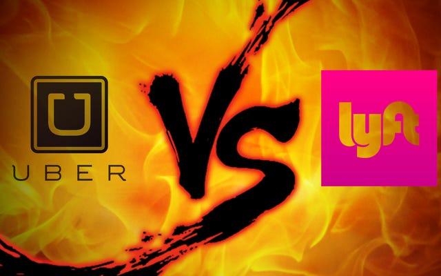Ride Sharing Showdown: Uber vs Lyft