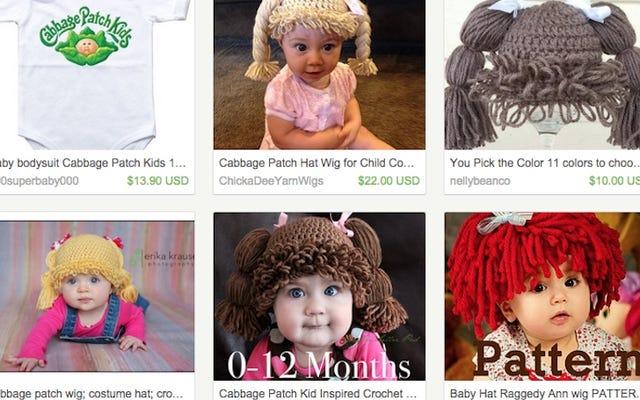มีคนจำนวนมากที่ต้องการแต่งตัวให้ทารกเหมือนตุ๊กตากะหล่ำปลี