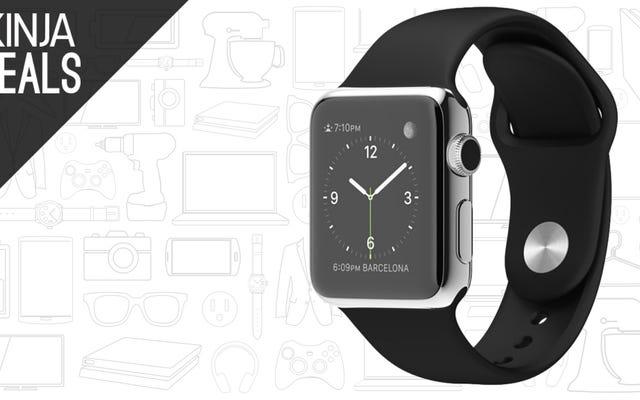Đây là giao dịch đầu tiên mà chúng tôi đã thấy trên Apple Watch thép không gỉ