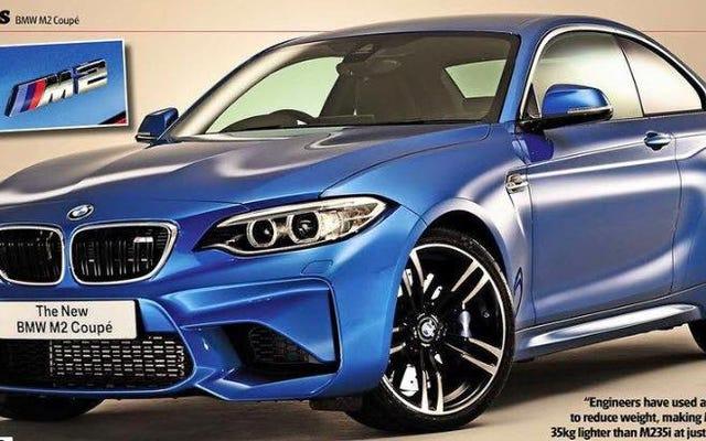 BMW M2 2016: c'est ça