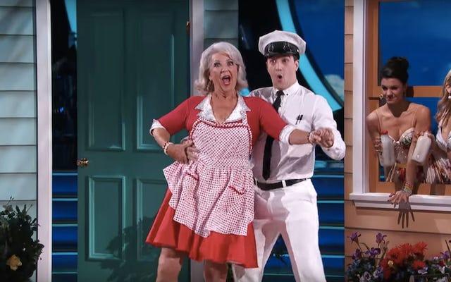 ダンシング・ウィズ・ザ・スターズ日記:ポーラ・ディーンがついにパンティの点滅と精液のジョークにたどり着く