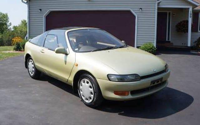 Dengan $ 8.500, Toyota Sera 1990 Ini Mungkin Membiarkan Anda Melebarkan Sayap dan Terbang
