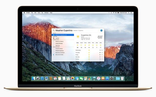 OS X ElCapitanでバッテリー寿命を最大化する方法