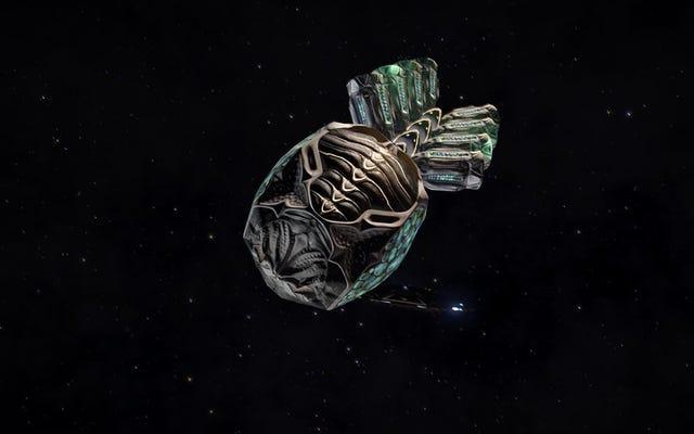 Nhiều tháng sau, Elite: Những người chơi nguy hiểm khám phá lớn về các đồ tạo tác bí ẩn của người ngoài hành tinh