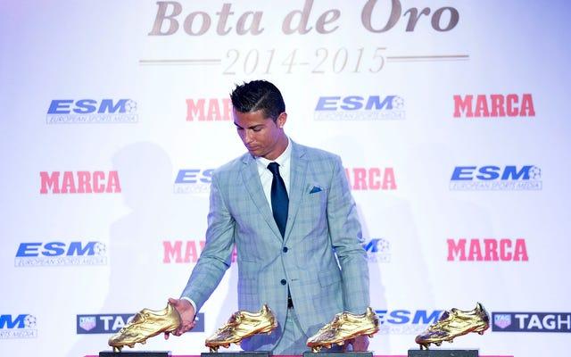 क्रिस्टियानो रोनाल्डो जीवित सबसे महान खिलाड़ी नहीं है, और वह पागल है