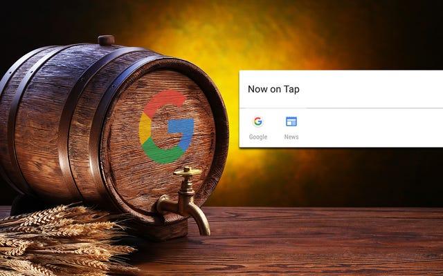 Google Now On Tap jest fajne, ale nie jest jeszcze tak przydatne