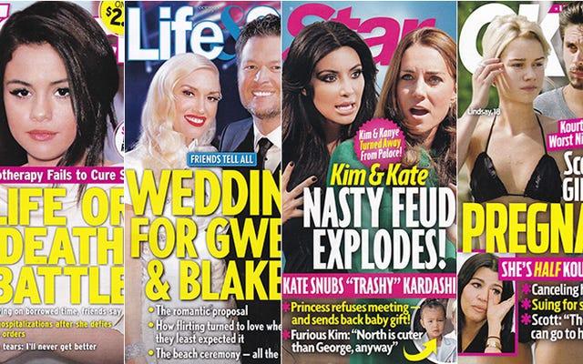 今週のタブロイド紙:キム・カーダシアンとケイト・ミドルトンはお互いを憎み、それは理にかなっています