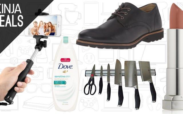 Penawaran Terbaik Hari Ini: Sepatu Rockport, Body Wash, Maybelline, dan Lainnya