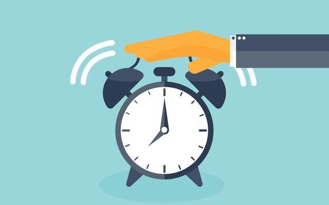 ทำไมกิจวัตรตอนเช้าของคุณไม่ทำงานและจะแก้ไขได้อย่างไร