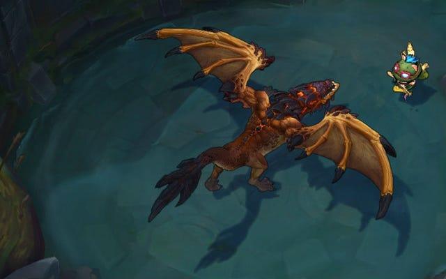 Gli gridatori del mondo hanno una teoria divertente sui draghi di LoL