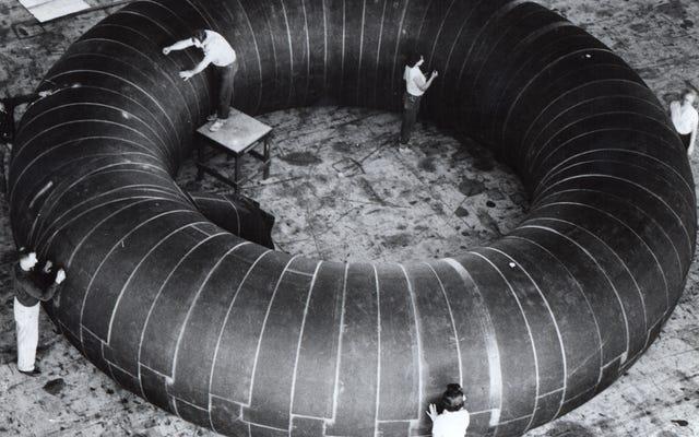 NASAは宇宙生息地のための膨脹可能なドーナツを考慮しました