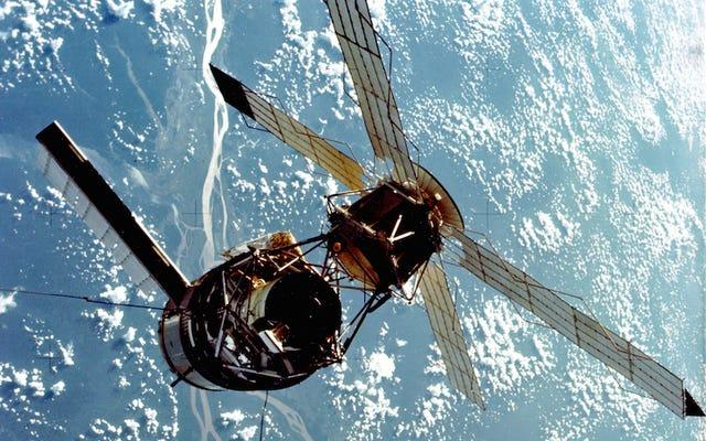 Unsere erste Langzeit-Raumstation schwebte wie eine Libelle durch den Weltraum