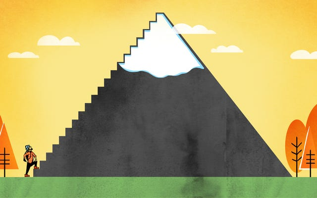 Làm thế nào để leo lên một ngọn núi chết tiệt