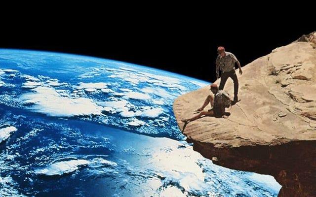 Estos collages de ciencia ficción surrealistas son un maravilloso vistazo a la locura