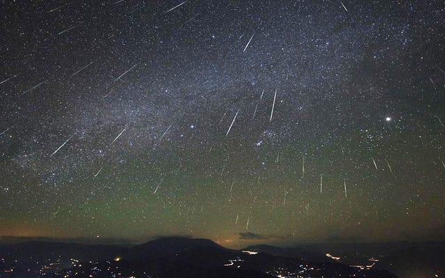 La lluvia de meteoros Oriónidas es esta noche y aquí se explica cómo verla