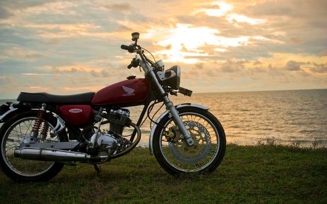 今日のコメント:オートバイのかゆみ版