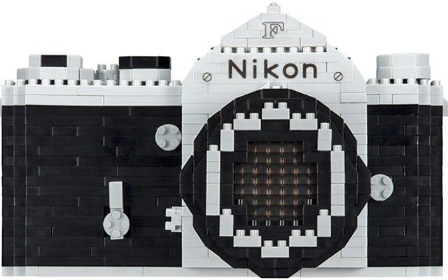 Bangun SLR Pertama Nikon Dengan Set Nanoblocks Baru Ini