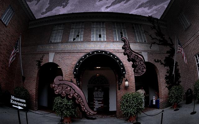 El Salón de la Fama del Béisbol es un lugar sombrío, cruel y terrible