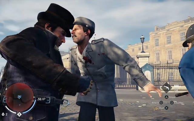 Trois minutes de combat pour un homme à moitié nu dans Assassin's Creed Syndicate