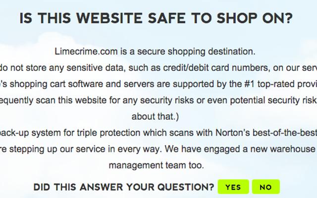 Pendiri Lime Crime Mengklaim Situs Web Mereka Aman, Menutup 'Pengganggu' -nya
