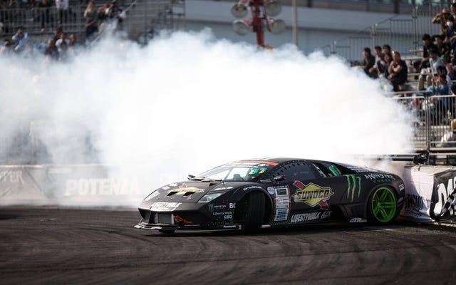 Cette Lamborghini Vs. Lexus LFA Supercar Drift Battle est réel