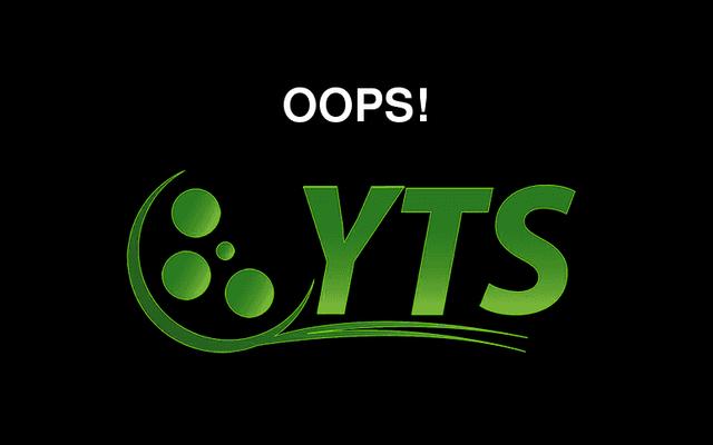 最も人気のある映画の急流サイトの1つであるYifyが消える