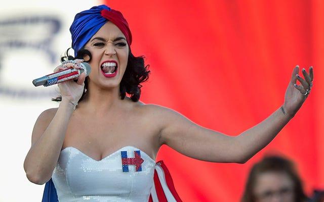 ケイティ・ペリーは、ほとんどのアメリカのように、2014年の中間選挙で投票しなかったようです