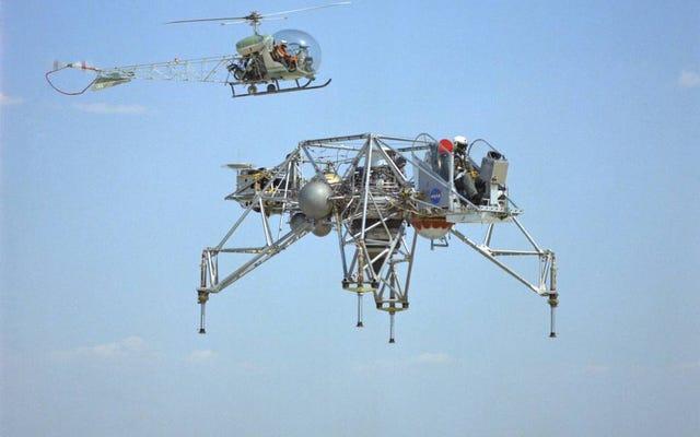 Te metalowe pająki nauczyły astronautów lądowania modułu księżycowego na Księżycu