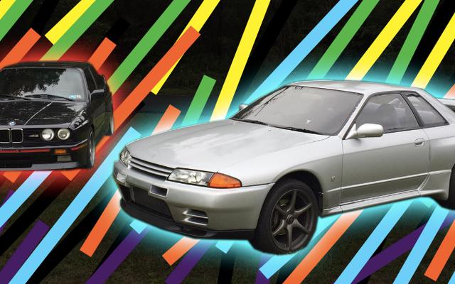 Come la mia Nissan Skyline GT-R è paragonabile alla E30 BMW M3
