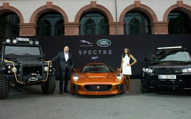 Jaguar-Land Rover popisał się gwiazdami SPECTER we Frankfurcie