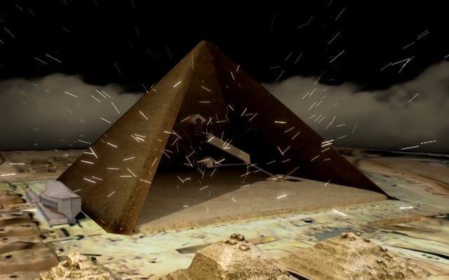 Les rayons cosmiques pourraient aider à percer les secrets des pyramides